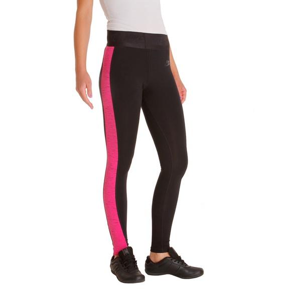 Nike Tech Fleece Black Pink Leggings